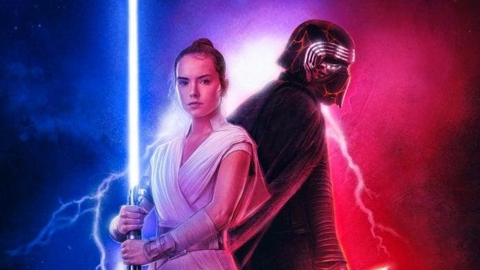 Star Wars The Rise of Skywalker Rey Kylo Ren Reylo