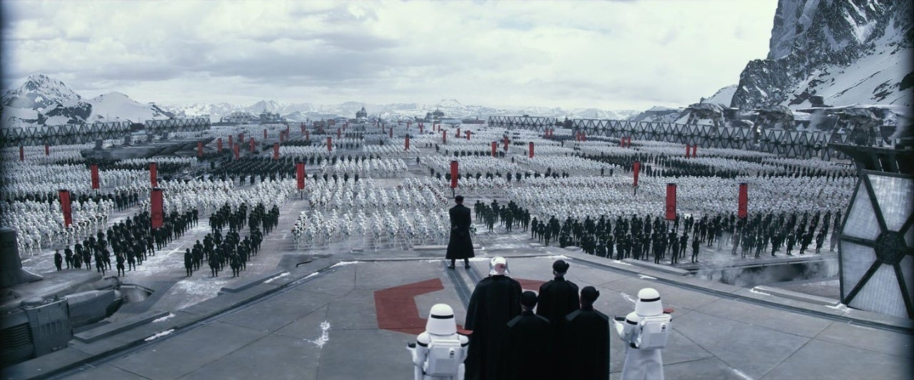 starkiller base force awakens star wars