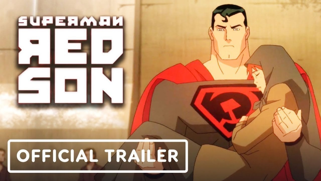 Superman Red Son Trailer Released