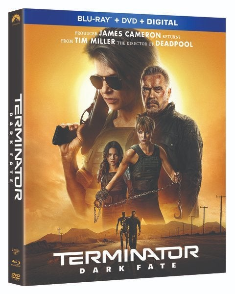 Terminator Blu-ray Combo box art