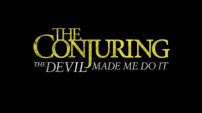 the conjuring 3 the devil made me do it logo