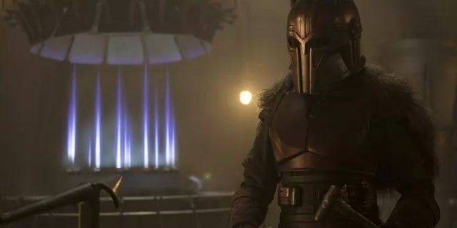 Star Wars: The Mandalorian's Emily Swallow on Bringing The Armorer to Life