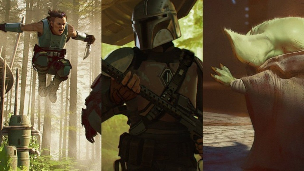 Star Wars Official Concept Art For The Mandalorian Chapter 4 Released
