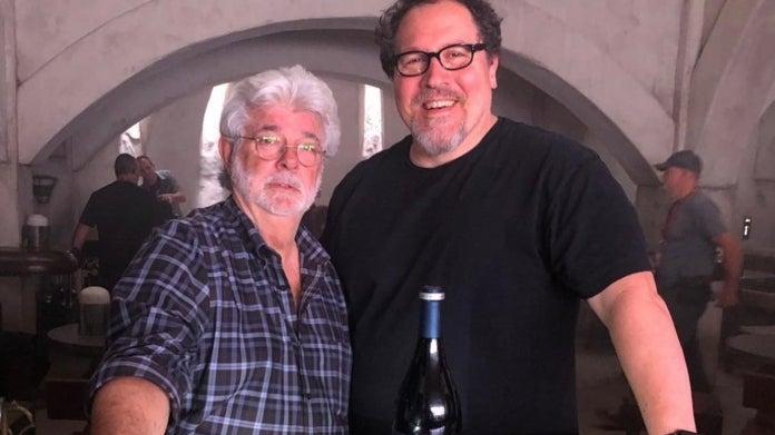 The Mandalorian Jon Favreau George Lucas