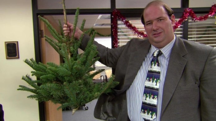 the office kevin christmas tree