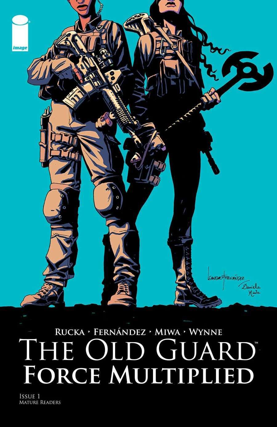 The Old Guard Force Multiplied #1