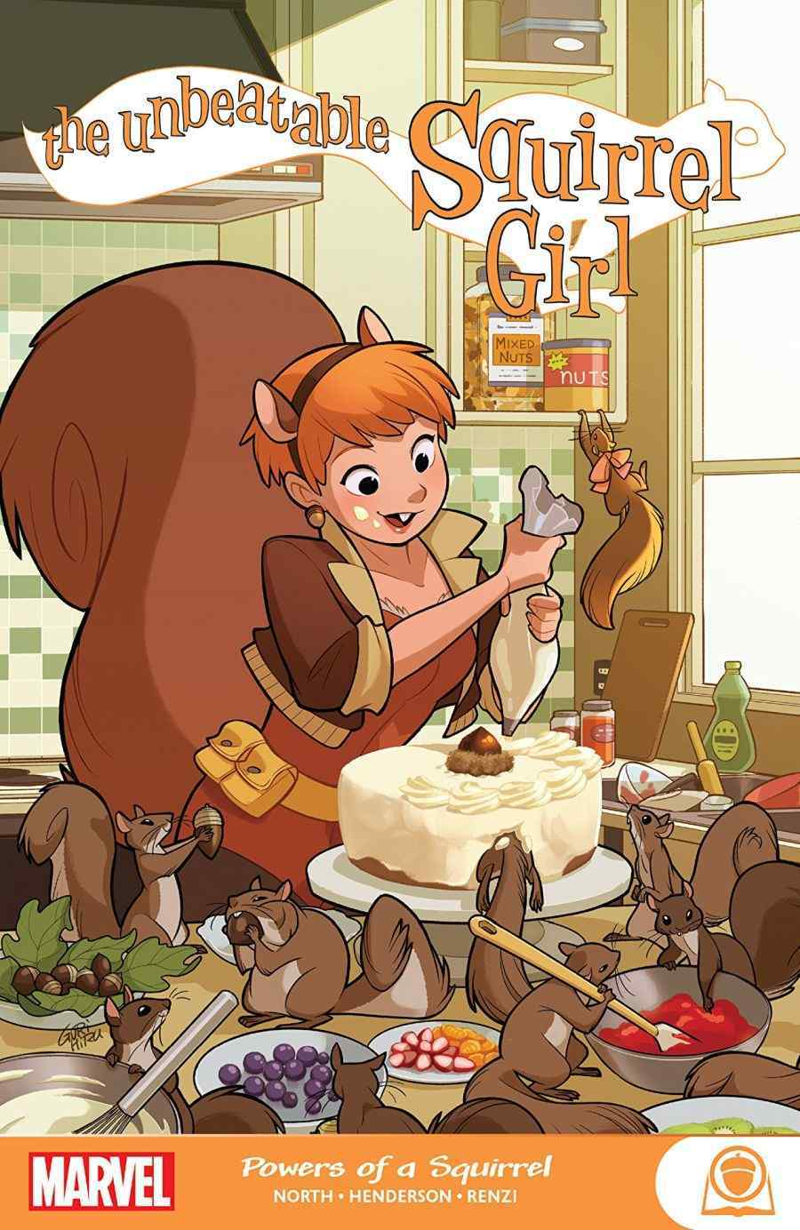 The Unbeatable Squirrel Girl Powers Of A Squirrel