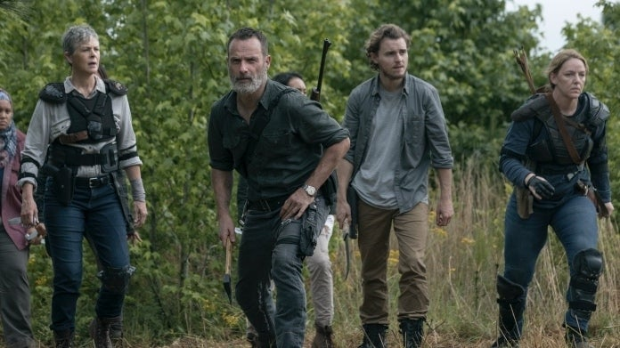 The Walking Dead Andrew Lincoln Callan Mcauliffe