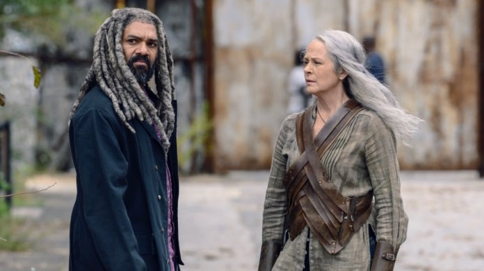 The Walking Dead Carol King Ezekiel Melissa McBride Khary Payton