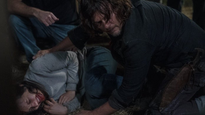 The Walking Dead Daryl Lydia Norman Reedus Cassady McClincy