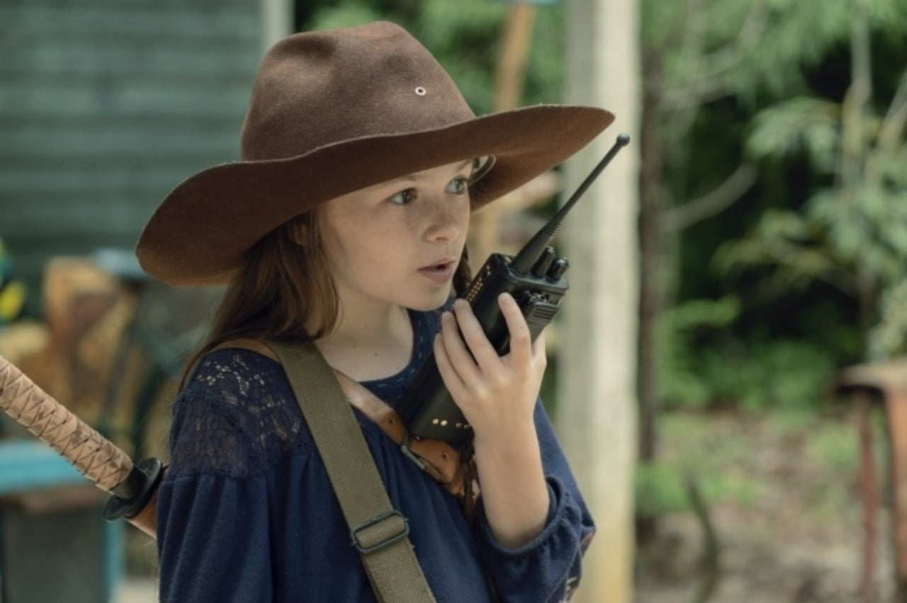 The Walking Dead Already Set Up Judith Getting Carl's Ending from the Comics