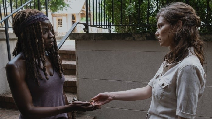 The Walking Dead Michonne Maggie Danai Gurira Lauren Cohan