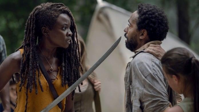 The Walking Dead Michonne Virgil