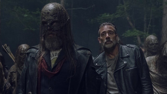 The Walking Dead Negan Beta Jeffrey Dean Morgan Ryan Hurst