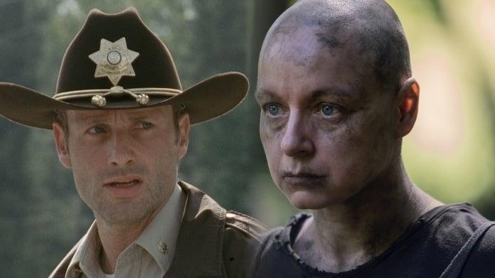 The Walking Dead Season 1 Season 10 Rick Alpha comicbookcom