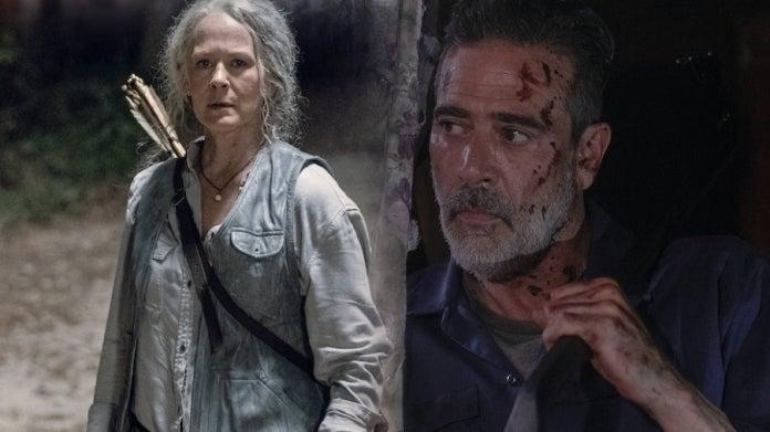 The Walking Dead Season 10 Negan Carol comicbookcom