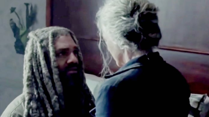 The Walking Dead Season 10B Carol Ezekiel