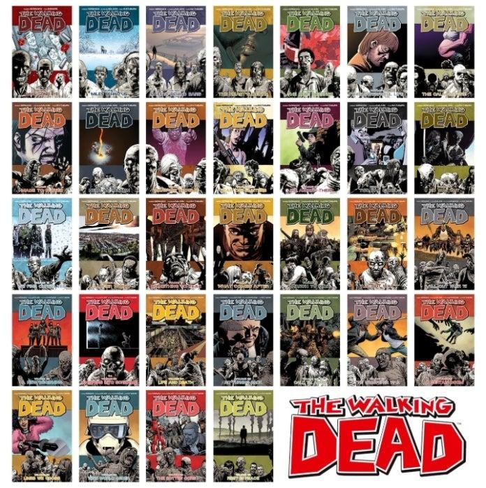 The Walking Dead trade paperbacks