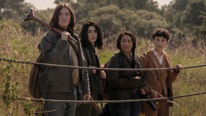 The Walking Dead World Beyond cast
