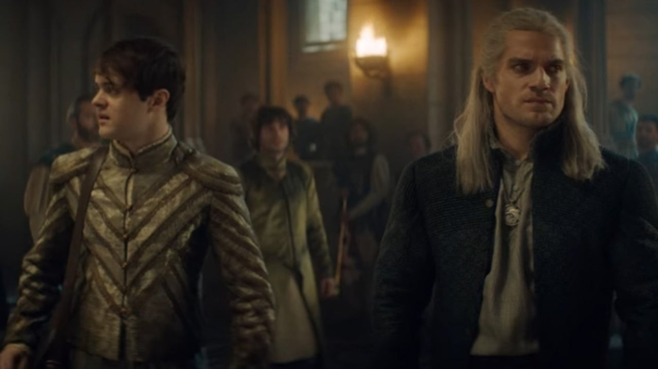 The Witcher's Jaskier Talks Favorite Scenes with Geralt's Henry Cavill