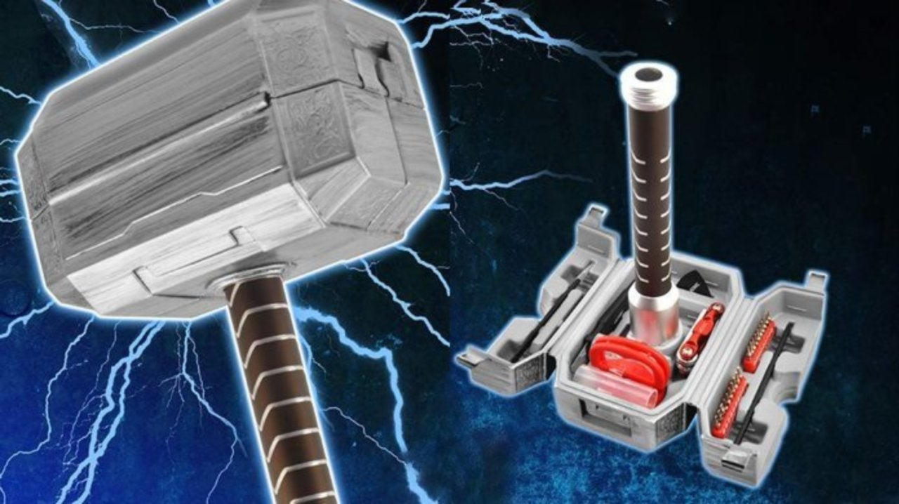 Marvel S Thor Hammer Mjolnir Tool Kit Is Now Available For Electronics