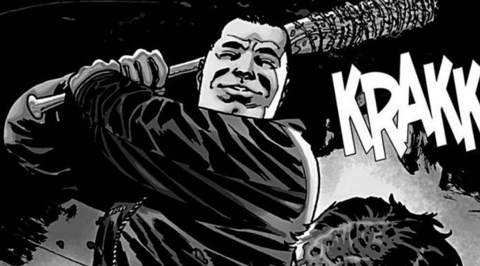 TWD comic Negan