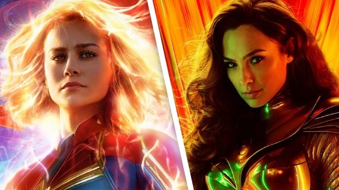 wonder woman 1984 brie larson captain marvel