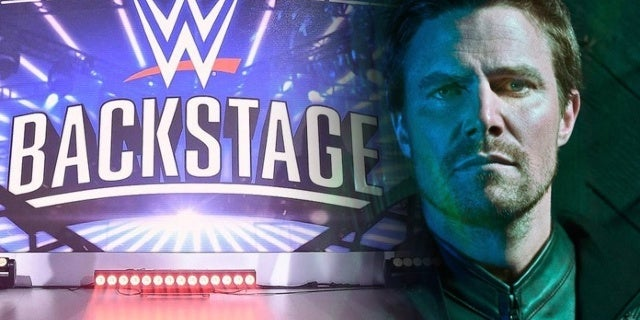 Arrow's Stephen Amell Missed WWE Backstage Due To Back Injury