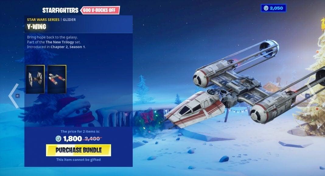 Y-Wing Fortnite Star Wars