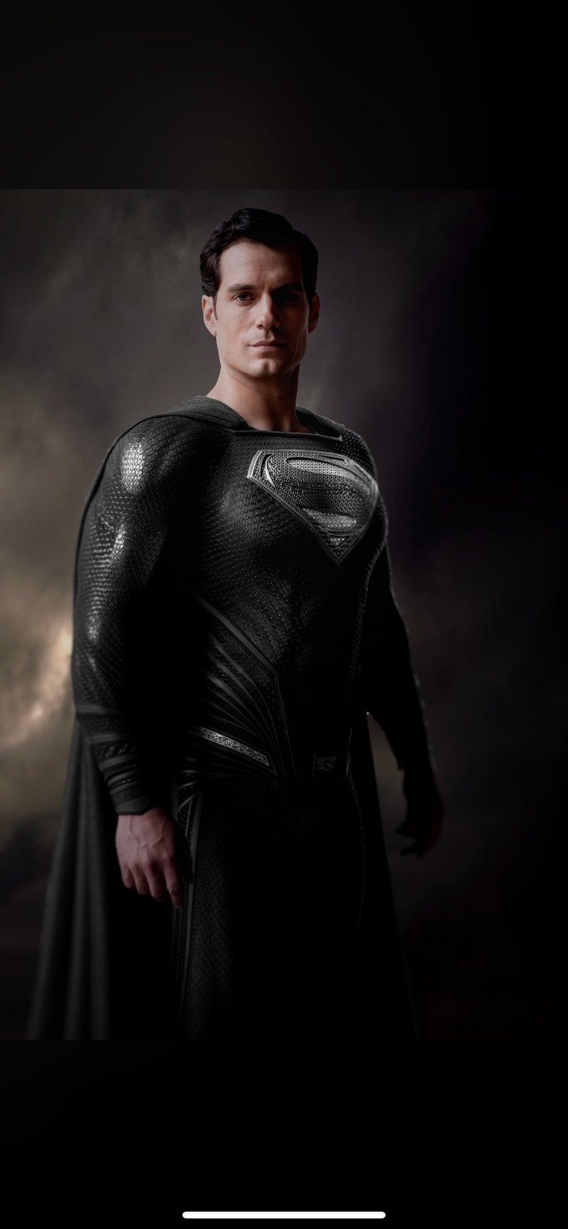 zack snyder black suit superman
