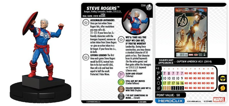 038 Steve Rogers (R)