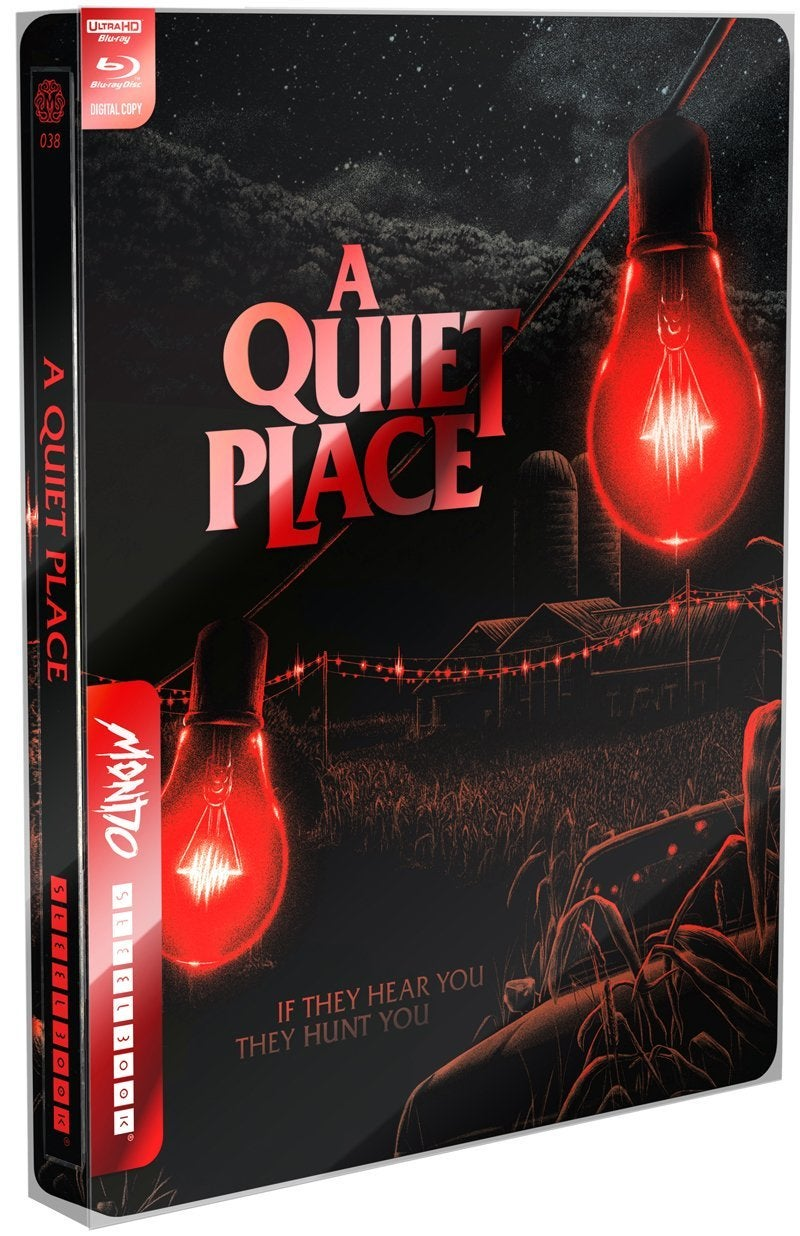 a quiet place mondo steelbook blu ray