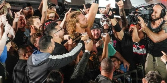Kenny Omega and Hangman Page Win the AEW World Tag Team Championships