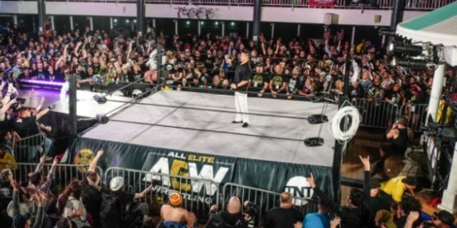 Watch: A Closer Look at Tonight's AEW Dynamite Set From Chris Jericho's Cruise