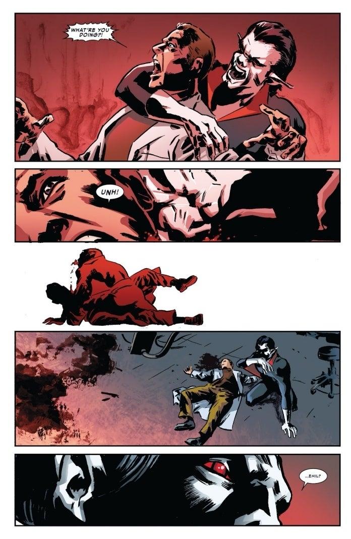 Amazing Spider-Man 699.1 Morbius