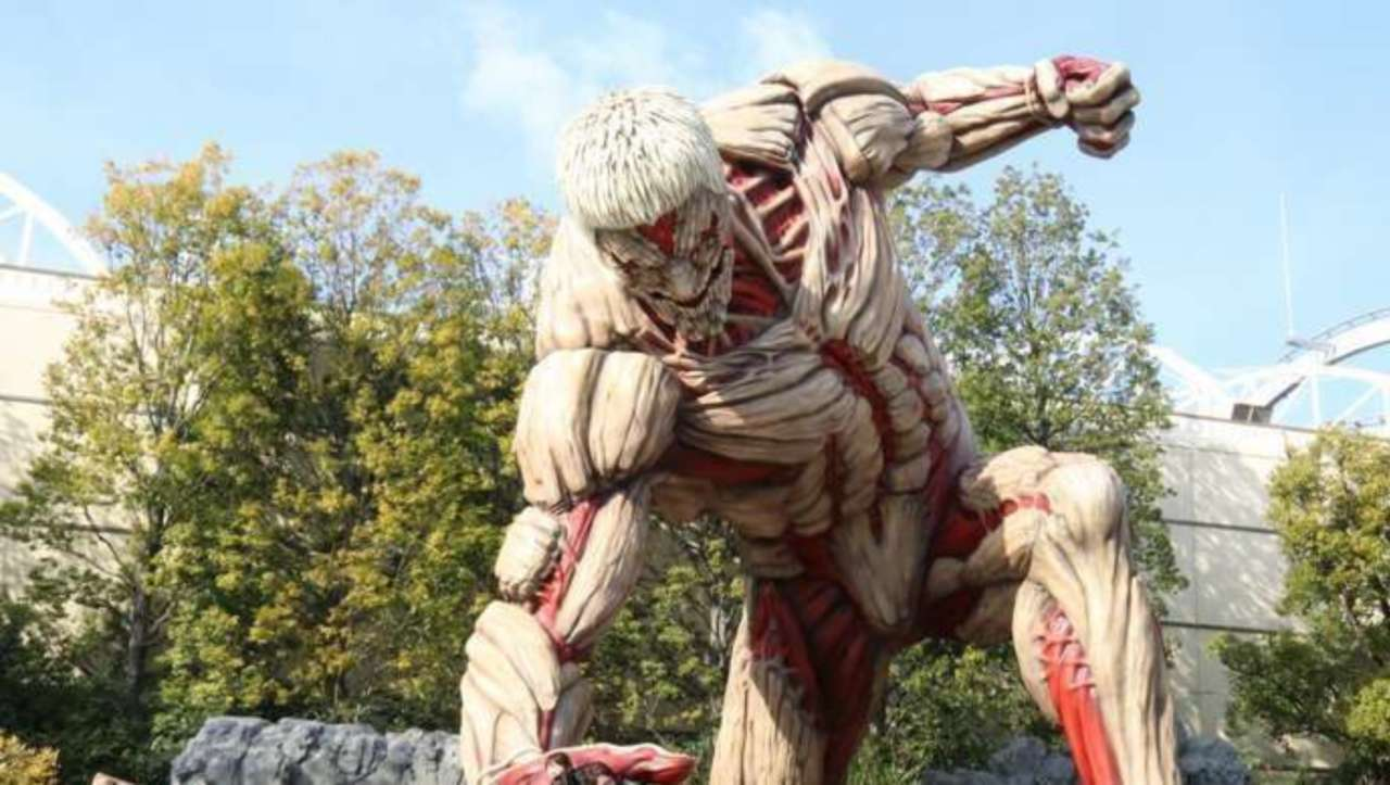 Attack On Titan Gives Behind-the-Scenes Look at Universal Studios Ride