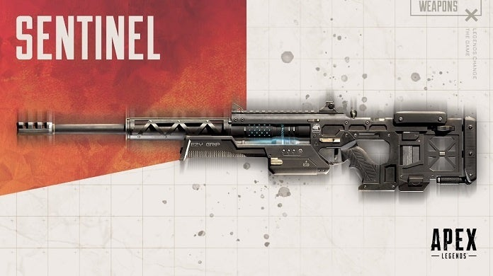 Apex Legends Season 4 Sentinel