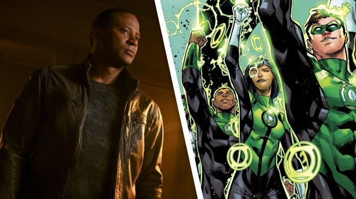 arrow finale john diggle green lantern