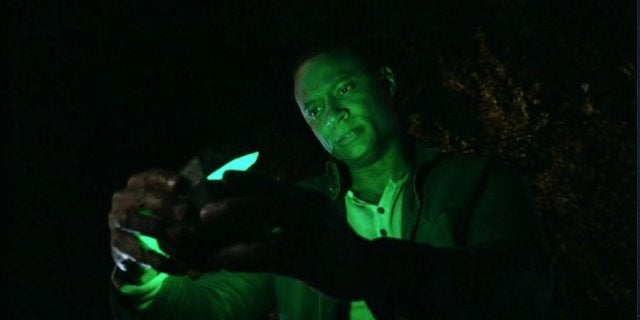 Arrow Finale John Diggle Green Lantern Origin Scene Video