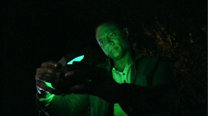 Arrow Finale John Diggle Green Lantern Origin Scene Video