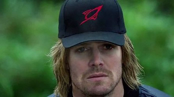 arrow oliver baseball hat