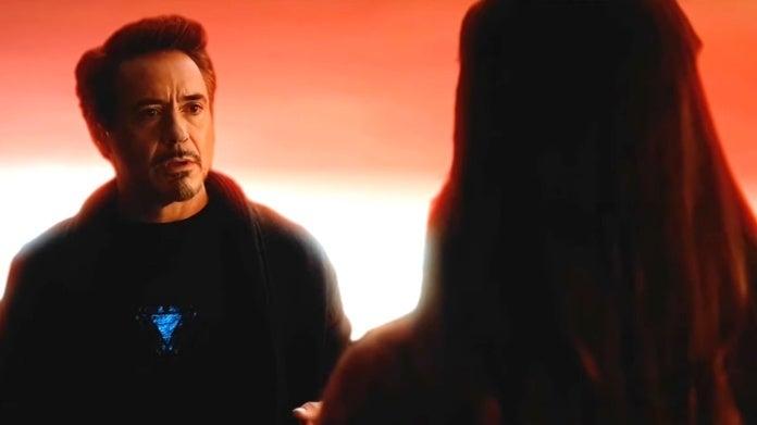 Avengers Endgame Iron Man deleted scene Katherine Langford