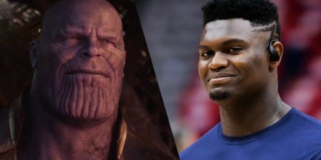 NBA Star Zion Williamson Debuts New Thanos-Themed Avengers: Endgame Sneakers