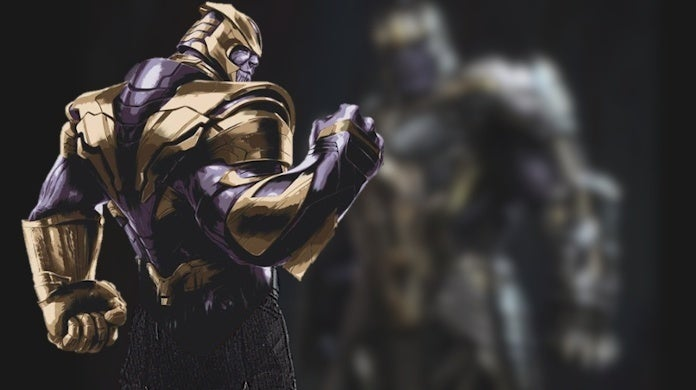 Avengers Engame Concept Art Thanos Axe Weapon