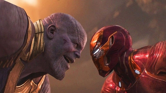 avengers infinity war thanos iron man