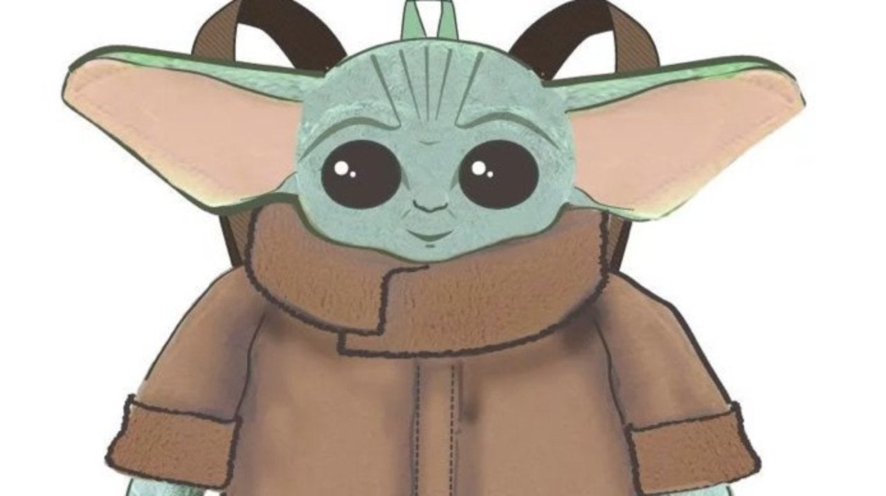 Image result for baby yoda backpack bioworld