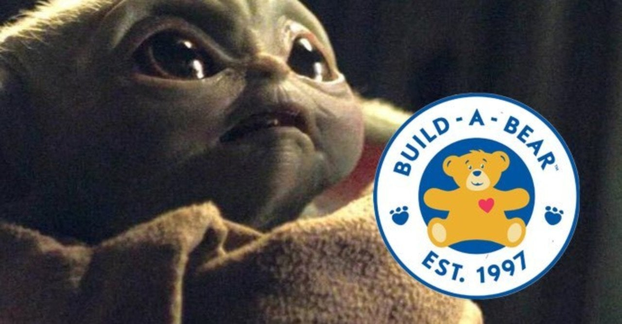 Build-A-Bear to Release Adorable Baby Yoda Plush