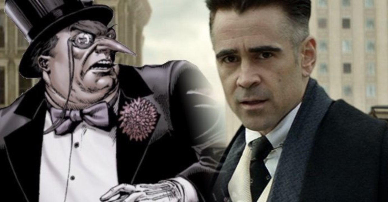 Image result for colin farrell penguin