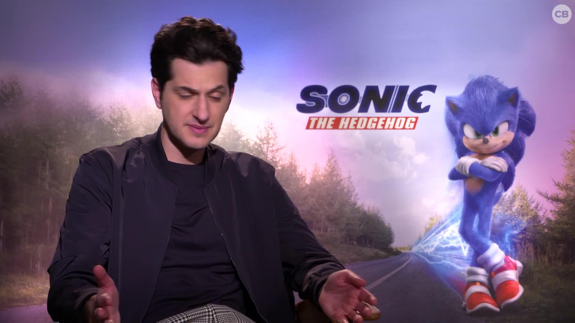 Ben Schwartz Talks Sonic the Hedgehog screen capture