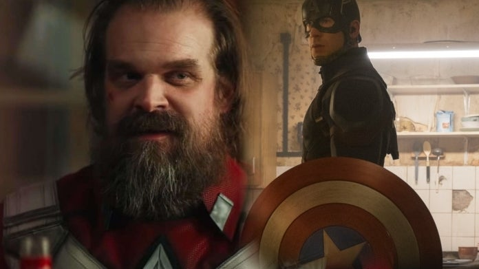 Black Widow David Harbour Red Guardian Captain America Chris Evans comicbookcom